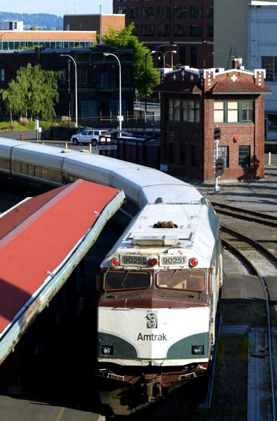 PAMPLIN FILE PHOTO - Amtrak train in Portland