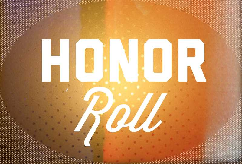 GRAPHIC ILLUSTRATION BY KRISTEN WOHLERS - Molalla River Middle School announced its first quarter honor roll.