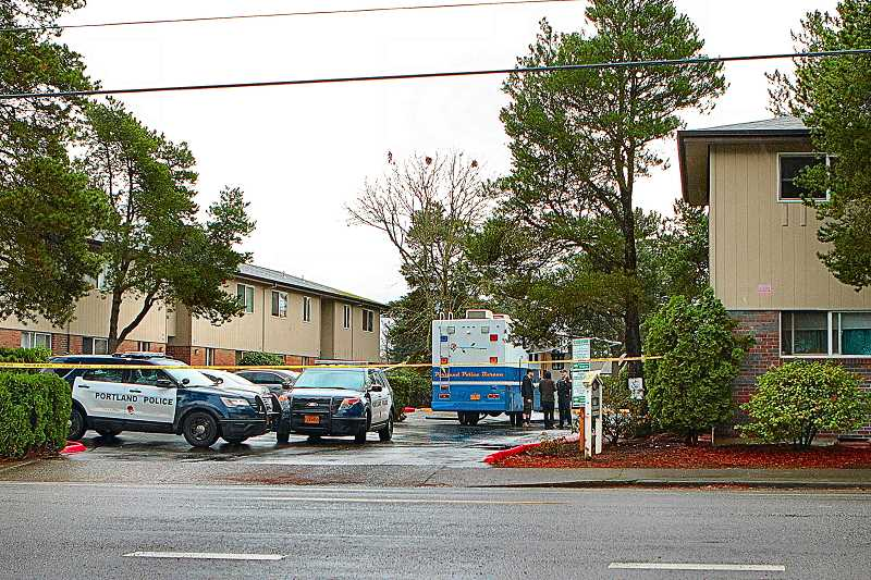 DAVID F. ASHTON - Early in December, police officers and detectives responded to investigate a stabbing that turned into a homicide at the Marwood Plaza apartments on Woodstock Boulevard at 72nd.