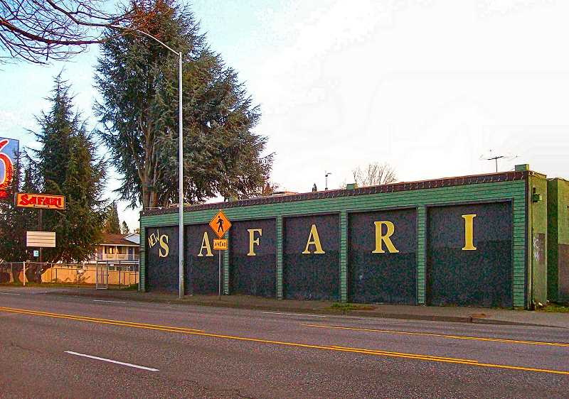 RITA A. LEONARD - The city bought and closed the Safari Strip Club on S.E. Powell Boulevard, with plans to build on the site a large apartment building offering affordable housing.