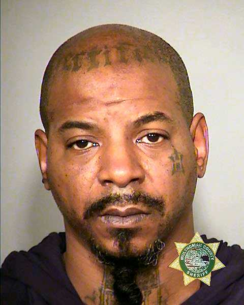 MCDC BOOKING PHOTO - 44-year-old Lorenzo L. Jones was found and arrested in Eugene on a warrant charging him with murdering a man in the Creston-Kenilworth neighborhood last year.