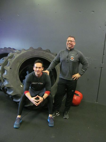PHOTO BY ELLEN SPITALERI - Jonah Elliott and Kris Dunlap, co-owners of Urban Warrior, designed and built the obstacle courses to focus on adventure training and confidence building.