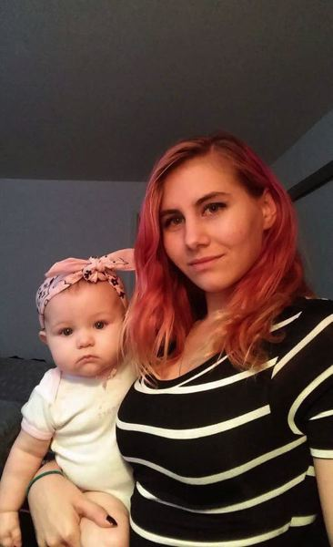 FAMILY PHOTO - Apache Rose Hightower, shown here with her young daughter in 2016, was killed September 20, 2016.