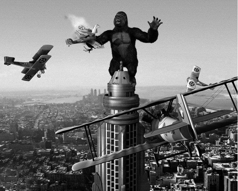 COURTESY: NORTHWEST FILM CENTER - The original, 1933 'King Kong' shows at Whitsell Auditorium, Jan. 28.