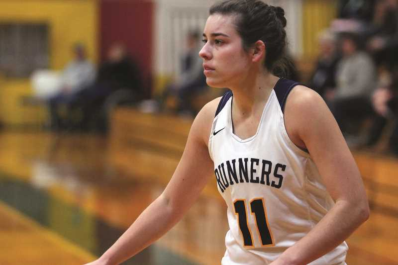 PHIL HAWKINS - Former North Marion student athlete Kelsie Henry is enjoying a prominent role with Linn-Benton Community College this season, leading the Roadrunners in 3-pointers made while scoring 13.9 points per game.