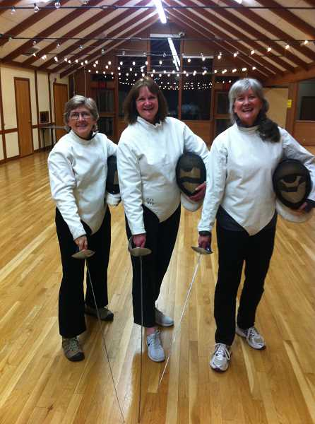 The fencers unmasked!