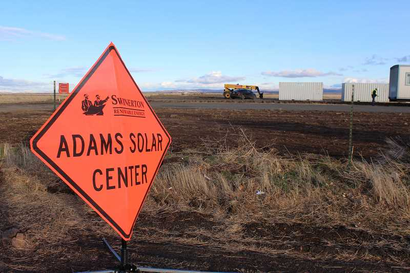 HOLLY M. GILL - Work has begun on two solar farms near Madras: one project off North Adams Drive, and another west of Dry Canyon, off Belmont Lane.