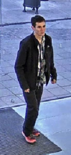 Video image of alleged thief.
