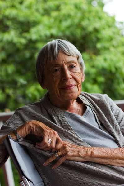 COURTESY: EUAN MONAGHAN/STRUCTO - Ursula K. Le Guin died Monday at the age of 88.