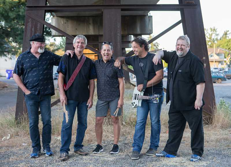 CONTRIBUTED PHOTO: GENERATOR - Generator is Bob Merritt on guitar and vocals, Gordon Hermanson on guitar and vocals, Rex Baker on bass and vocals, John Garcia on percussion and vocals and Eric Lawrence on keyboard and vocals.