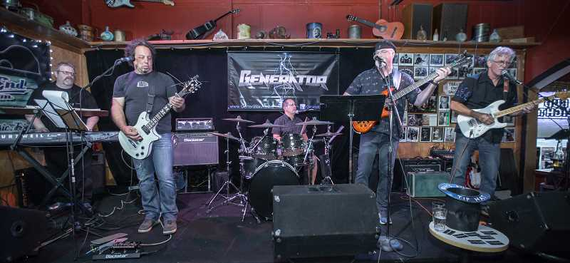 CONTRIBUTED PHOTO: GENERATOR - Generator will play at The Viewpoint Restaurant and Lounge next month.