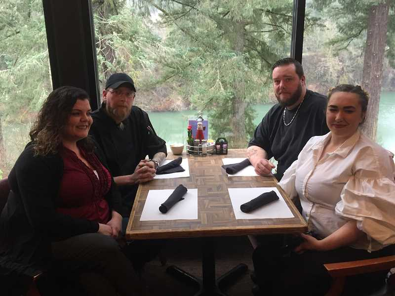 ESTACADA NEWS PHOTO: EMILY LINDSTRAND - The new management team at the Cazadero Inn is eager to provide new menu items and old favorites to guests.