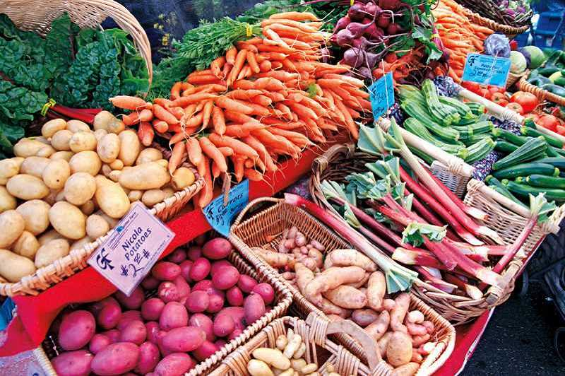 TIMES FILE PHOTO - Carrots and potatoes are among the most abundant winter crops at the Beaverton Farmers Market.