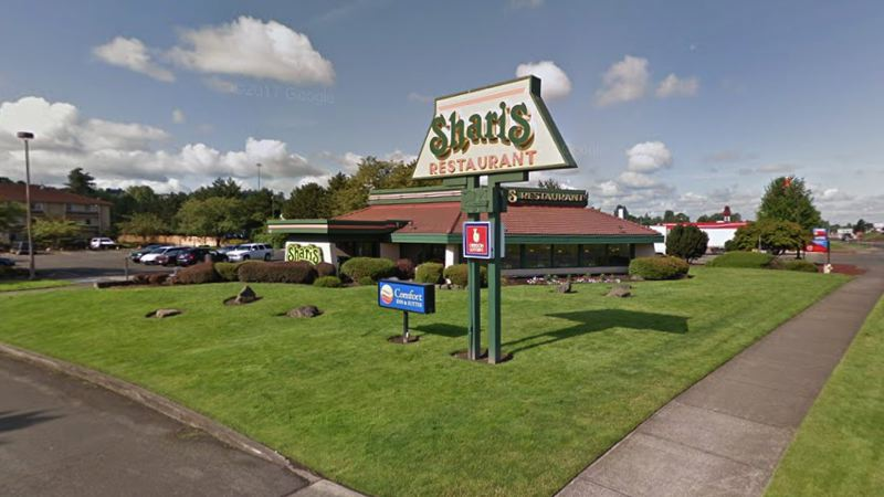 GOOGLE MAPS IMAGE - The Troutdale Shari's restaurant located at 557 N.W. Phoenix Drive.