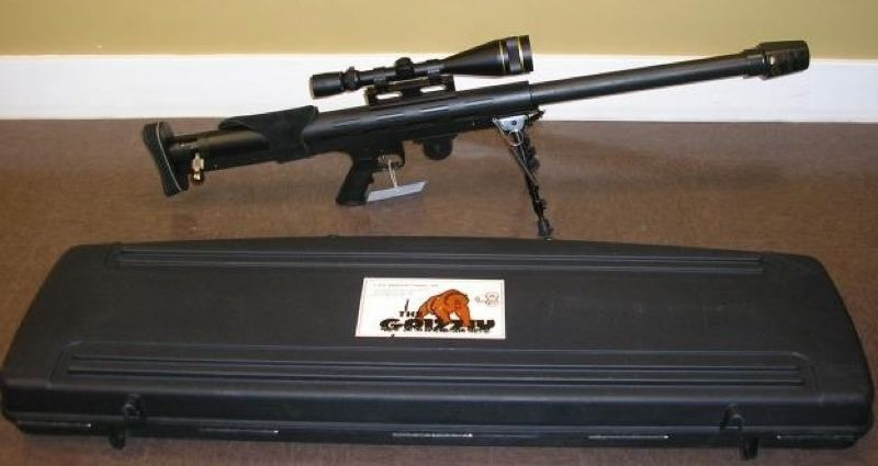 CONTRIBUTED PHOTO: GRESHAM POLICE DEPARTMENT - This rifle is similar to the one which was stolen from a Gresham home late last week.