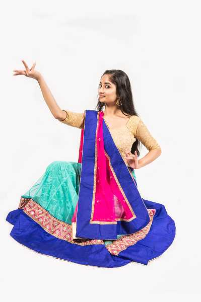 SUBMITTED PHOTOS: DAVID KINDER - Alisha Menon takes the lead role in Northwest Childrens Theaters production of Chitra: The Girl Prince opening Feb. 3.