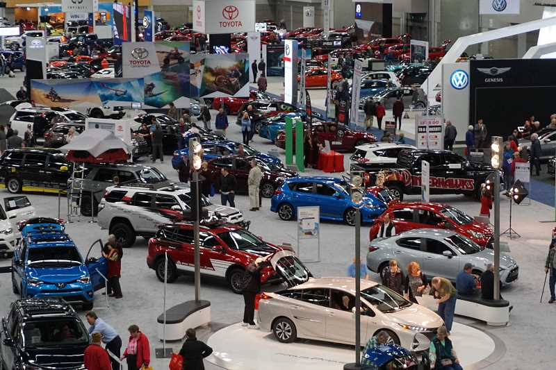 SUBMITTED PHOTO - The 2018 Portland International Auto Show will be open from Thursday, Jan. 25, to Sunday, Jan. 28, at the Oregon Convention Center.