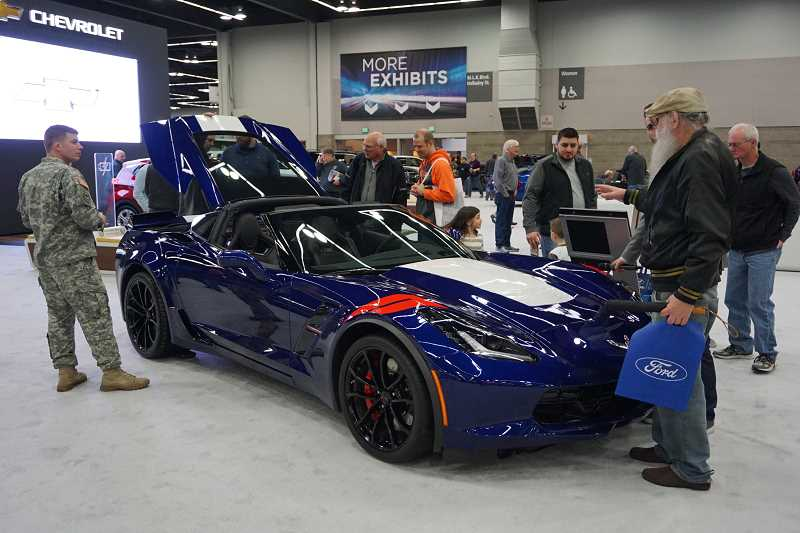 SUBMITTED PHOTO - Want more information about the cars on display at this weekend's Portland International Auto Show? Check out the special section inside today's issue of The Review.