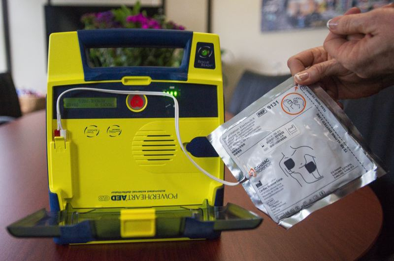 OUTLOOK FILE PHOTO - Gresham Chief of Police Robin Sells wants to have an AED in every patrol vehicle.
