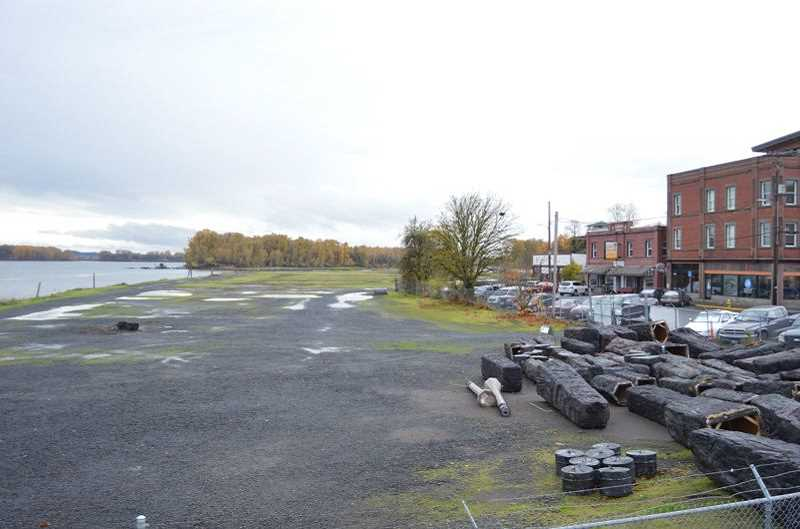 FILE PHOTO - St. Helens waterfront property pegged for redevelopment.