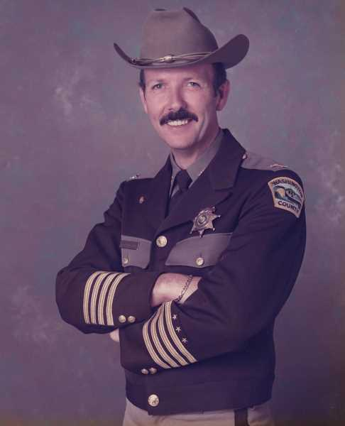 COURTESY PHOTO - William Randolph 'Bill' Probstfield served as Washington County Sheriff from 1983 to 1993.