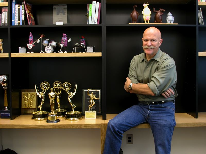 COURTESY: WILL VINTON ENTERTAINMENT - Claymation pioneer Will Vinton has stayed busy in recent years after his storied career that included commercials and movies. He's even written his own musical play, 'The Kiss,' which he hopes will be staged in the near future. He's also still involved with some film companies, including Aardman Animations.