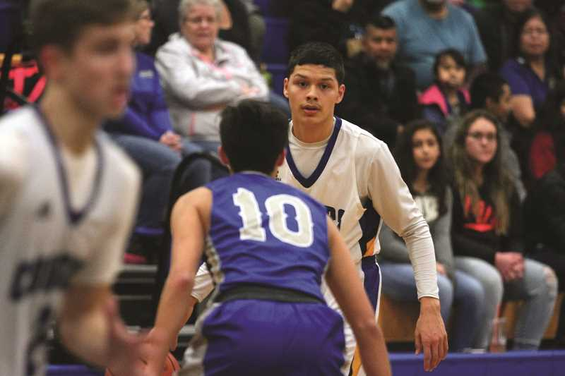 PHIL HAWKINS - Gervais junior Pedro Villegas had a triple double in the Cougars' 97-80 win over Chemawa on Friday, pouring in 31 points, 12 rebounds and 10 assists in the victory.