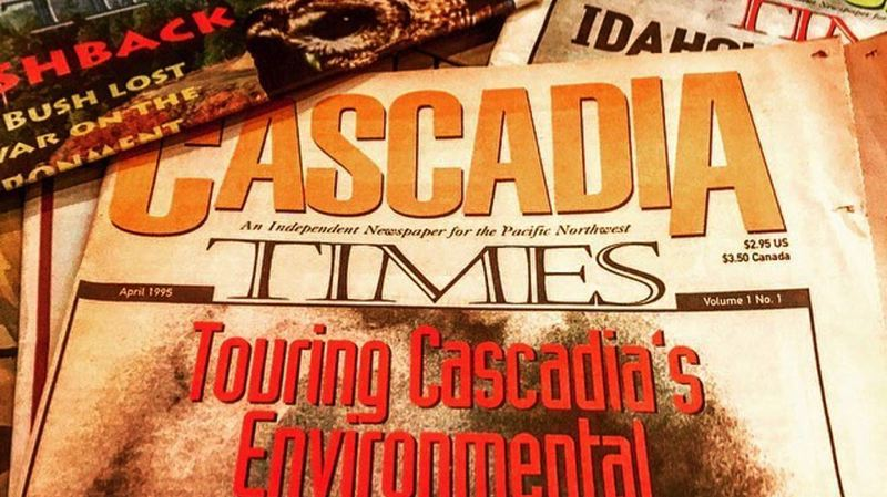 COURTESY PAUL KOBERSTEIN  - Cascadia Times, an environmental journal focusing on the Northwest, is being revived, via a Kickstarter fundraising campaign.