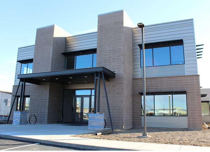 HOLLY M. GILL - This week, staff at KEITH Manufacturing Co. are moving into their new, 12,454-square-foot office space, located on Northwest Adler, in the Madras Industrial Site. The office will replace six modular trailer units.