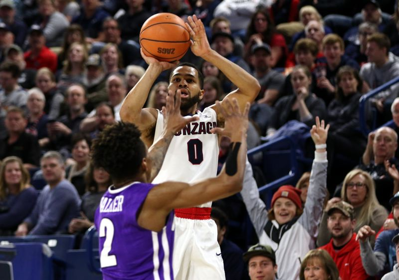 COURTESY: GONZAGA UNIVERSITY - Former Jefferson High guard Silas Melson is in the home stretch of his basketball career with Gonzaga.