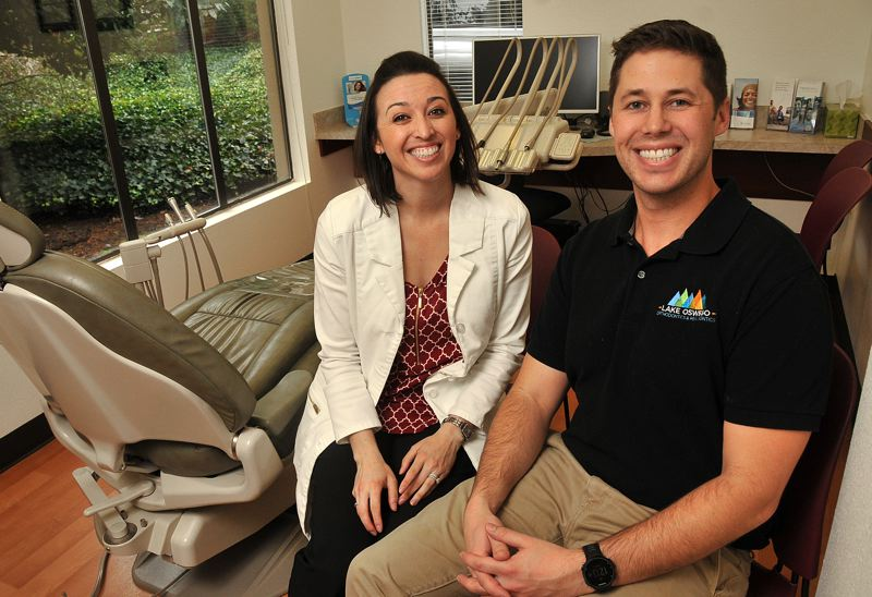 VERN UYETAKE - Drs. Vanessa and Andrew Peterson have purchased Lake Oswego Orthodontics and Periodontics. Vanessa is the orthodontist and Andrew provides the periodontic services.
