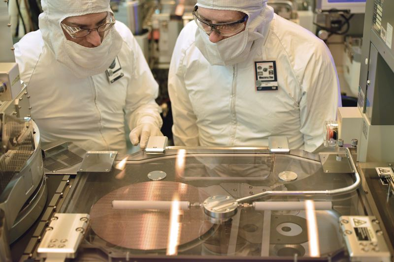 PAMPLIN MEDIA GROUP: FILE PHOTO - Portland's strong manufacturing base is skewed by Intel, which invests heavily in tools and fabs.