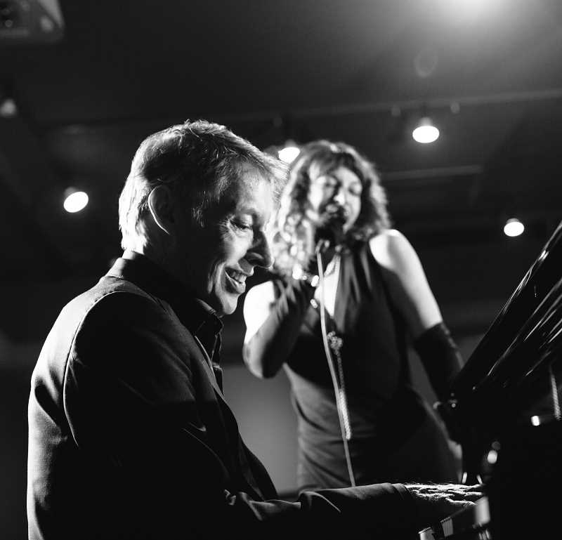 SUBMITTED PHOTO - Jazz pianist Tom Grant and vocalist Shelly Rudolph will present Winter Romance at Lake Theater and Cafe Feb. 26.
