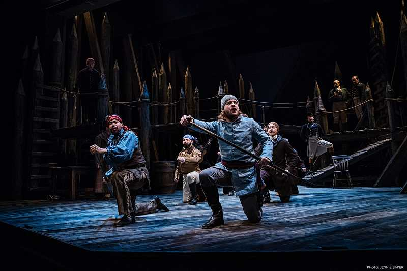 SUBMITTED PHOTOS  - Portland Center Stage at The Armory is presenting Astoria: Part Two through Feb. 18. Dont miss this world premiere.