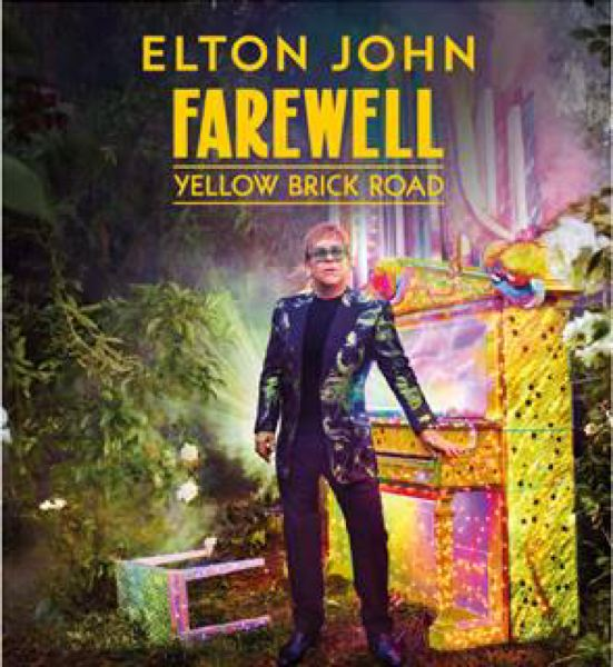 COURTESY IMAGE - Elton John is going on a three-year farewell tour and stopping in Portland in January 2019.