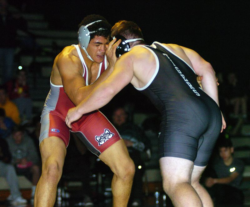 DAN BROOD - Tualatin's Jarius Jackson (left) and Tigard's Jacob Beck should be two of the top competitors at the TRL district tournament.