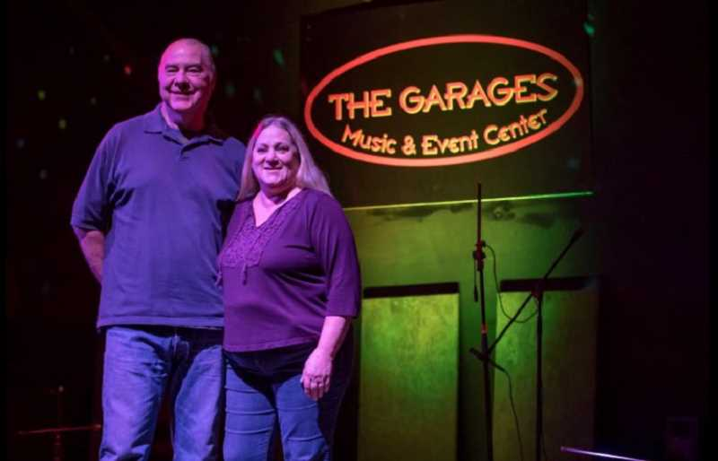 TIMES PHOTO: JONATHAN HOUSE - Kent and Jami Drangsholt of The Garages music venue.