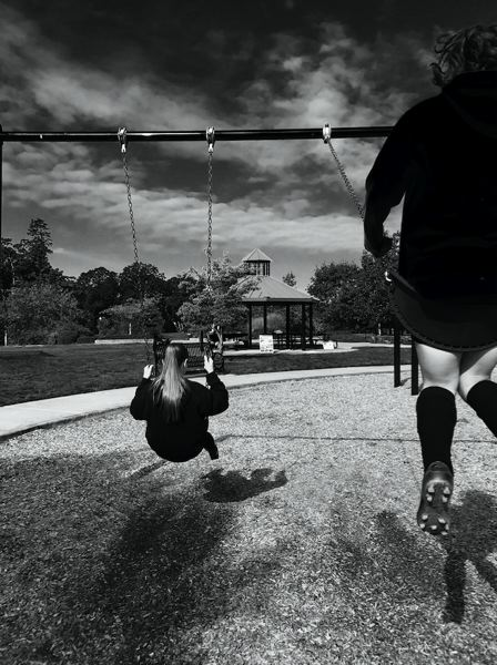 COURTESY PHOTO - This photograph, titled Swing, was taken by Dylan Dietz and received a Gold Key award. Dietz has been taking photos for several years and recently started in a digital photography class now being offered at the middle school.