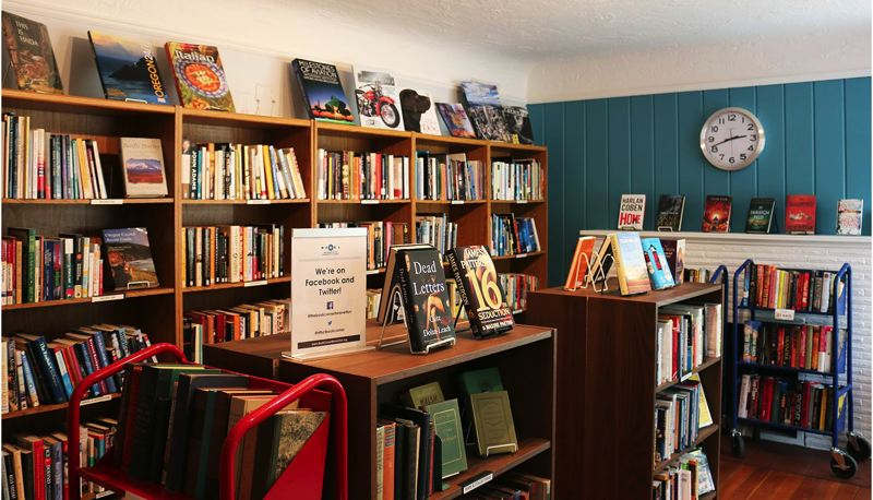 COURTESY PHOTO - If the New Friends of the Beaverton City Library lose in court, the group might have to pony up more than $4,000 each year in property taxes for its small used bookstore.