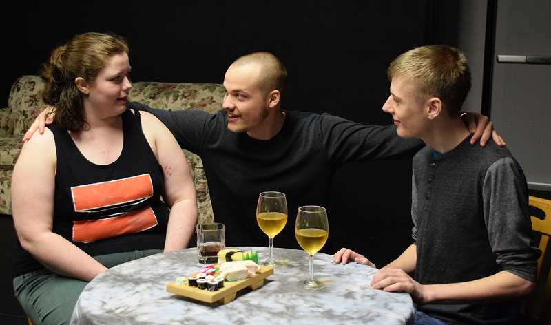 COURTESY PHOTO: REBECCA ALLEN - While Tom and Helen are happy together, the two have to decide whether their relationship can withstand societal pressure.
