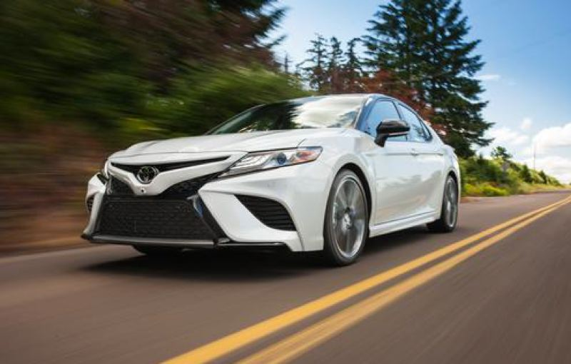 TOYOTA MOTOR CORPORATION - The 2018 Toyota Camry is all knew and the XSE version is aggressively styled with a large, low dash and special body trim.