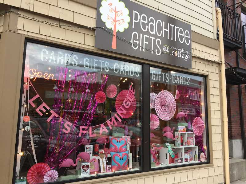 SUBMITTED PHOTO: GEORGINA YOUNG-ELLIS - Columnist Georgina Young-Ellis gave Peachtree Gifts, a shop on 7843 S.W. Capitol Highway, an extraordinarily sincere rating.