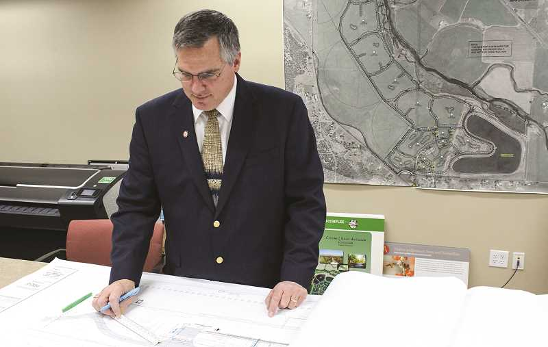 JASON CHANEY - Phil Stenbeck has worked on several high-profile city projects during his tenure.