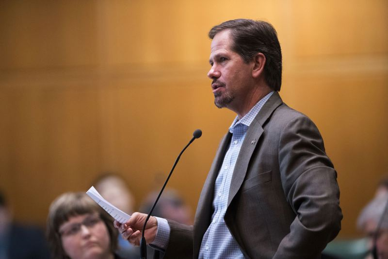 PAMPLIN MEDIA GROUP FILE PHOTO - State Rep. Knute Buehler of Bend proposed Monday, Feb. 5, increasing a state cigarette tax to fund DHS improvements.