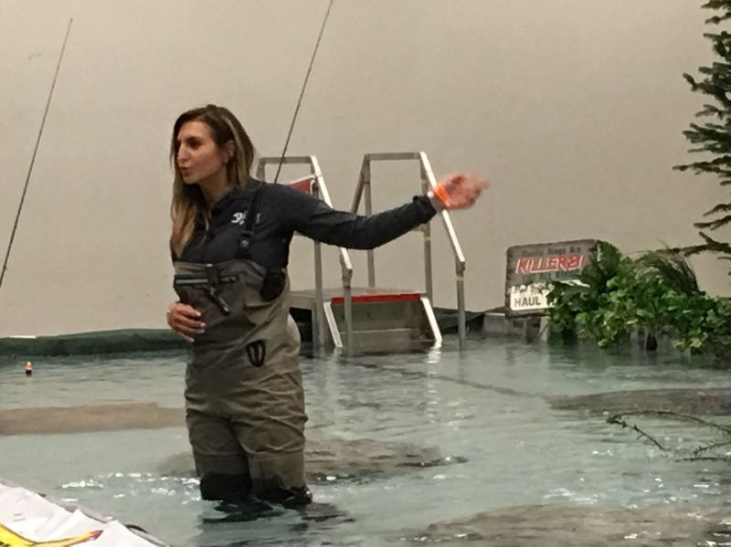 COURTESY: PACIFIC NORTHWEST SPORTSMEN'S SHOW - Fishing guides Ashley Nichole Lewis (above) and Lacey DeWeert will be part of the first Women's Fishing Forum, 7 p.m. Thursday, Feb. 8, at the Pacific Northwest Sportsmen's Show. They both encourage women to try their hands at fishing. 'It can be intimidating,' Lewis says. 'Everything's geared toward men. It's starting to change.'