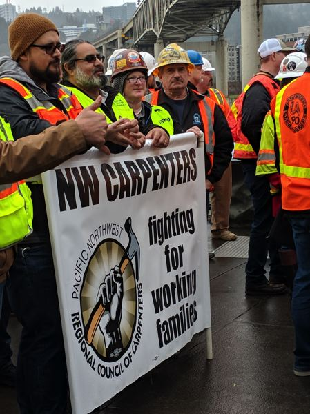 PAMPLIN MEDIA GROUP: JOSEPH GALLIVAN - Members of the Pacific Northwest Regional Council of CarpenterS.