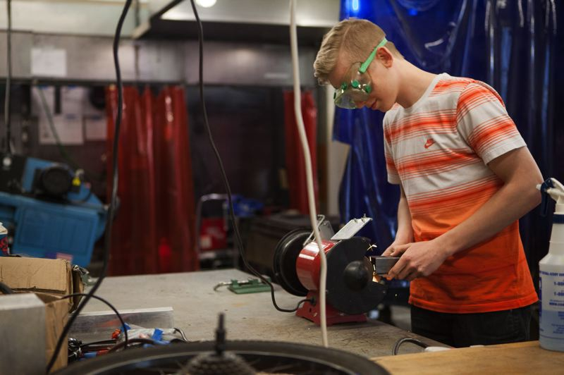 OUTLOOK FILE PHOTO - Students at the Center for Advanced Learning have been a big draw for industrial companies, as CAL trains a local workforce that can be employed.