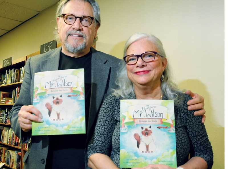 GARY ALLEN - Dennis and Dalores Horine held a book signing Friday at Chapter's Books and Coffee.