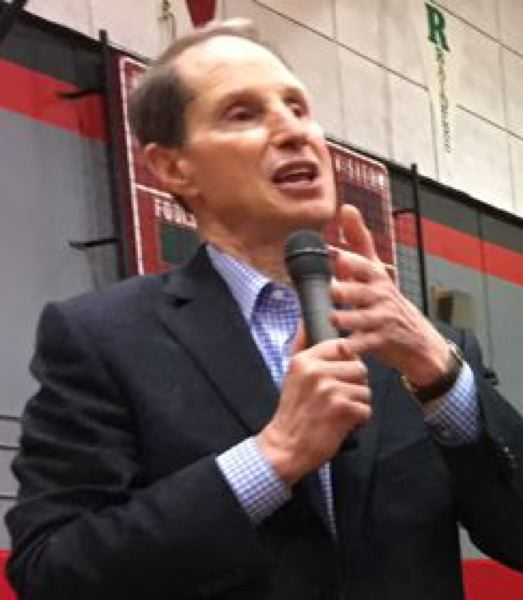 PORTLAND TRIBUNE FILE PHOTO - Oregon U.S. Sen. Ron Wyden