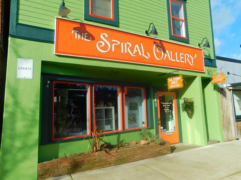 ESTACADA NEWS PHOTO: EMILY LINDSTRAND - The Spiral Gallery, 341 Broadway St., will host its annual Second Saturday event this weekend.